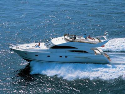 location bateau Princess 61