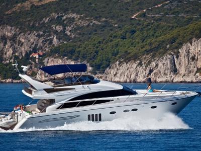 location bateau Princess 62