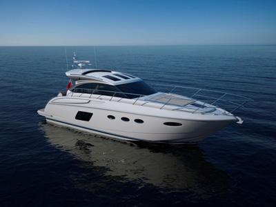 Location bateau  Princess V 48