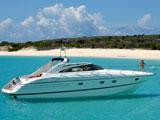location bateau Princess V 50