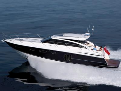 location bateau Princess V 52