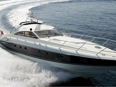 location bateau Princess V 55