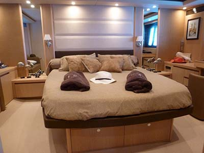 inside Princess V70