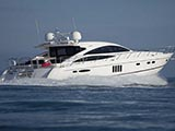 location bateau Princess V70