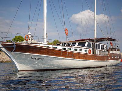 location bateau Prvi Odisej