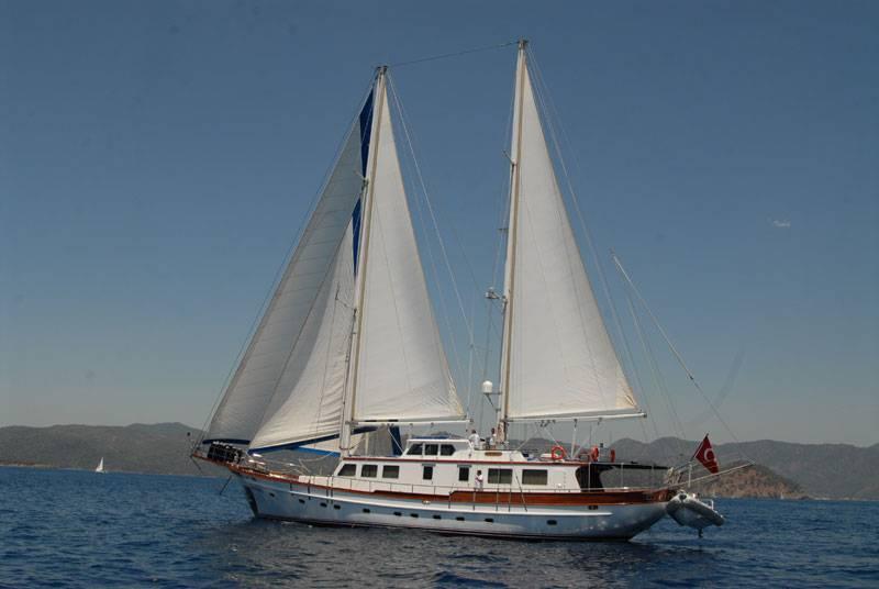 location bateau Rigel