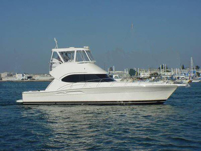location bateau Riviera 42