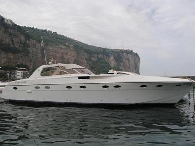 location bateau Rizzardi 50 Top Line