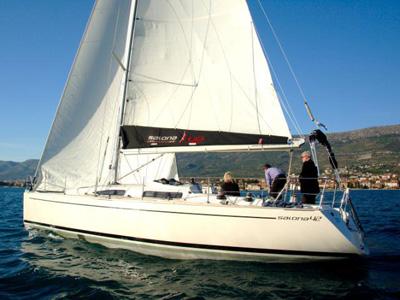 location bateau Salona 42