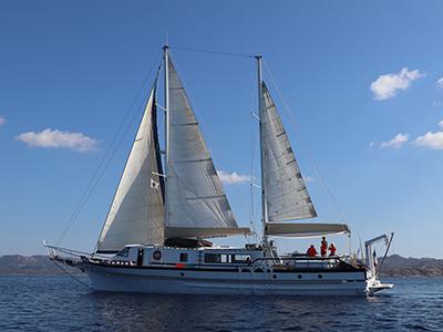 location bateau Santa Giulia