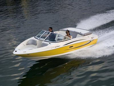 location bateau Sea Ray 175 Sport