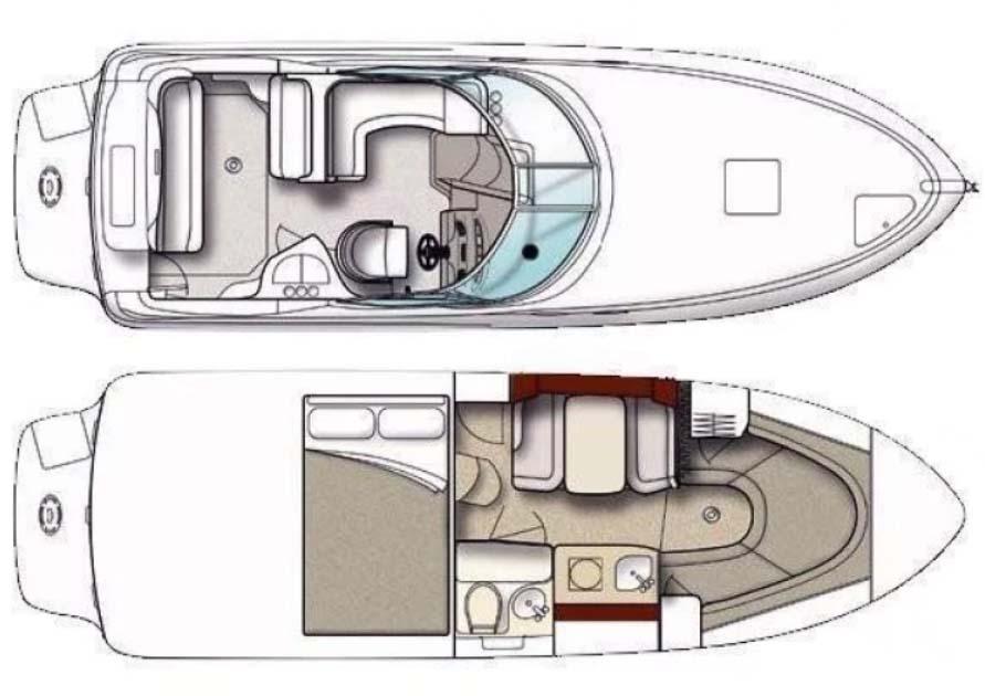 interno Sea Ray 315