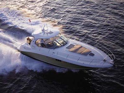 location bateau Sea Ray Sundancer 455