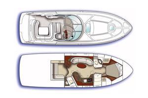 intérieur Sea Ray Sundancer 455