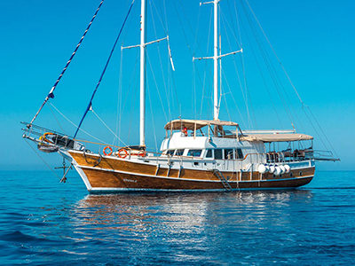 location bateau Sirena
