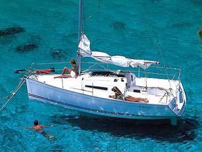location bateau Sun Fast 26