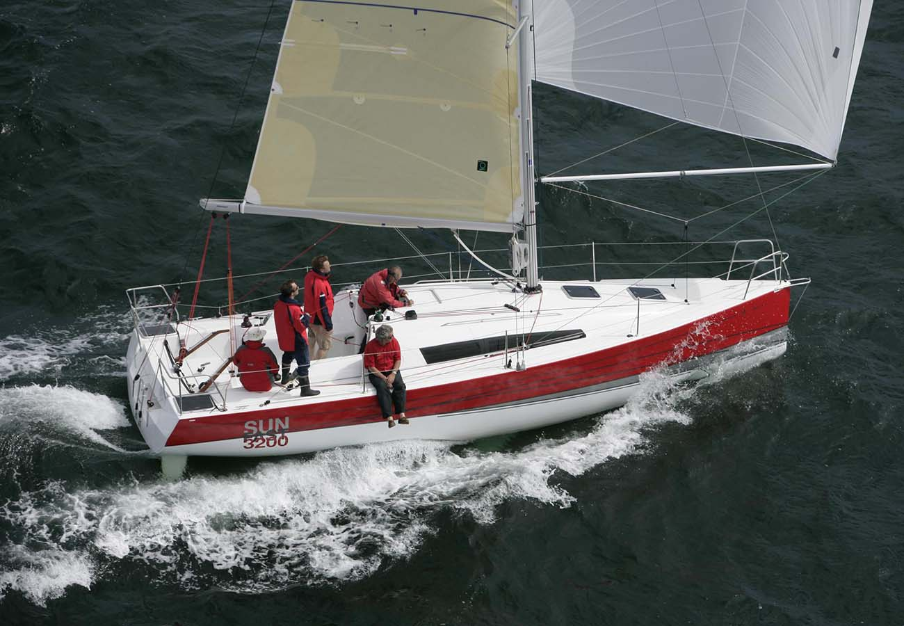 location bateau Sun Fast 3200