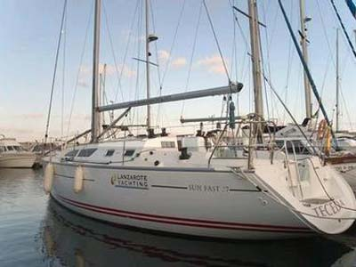 location bateau Sun Fast 37