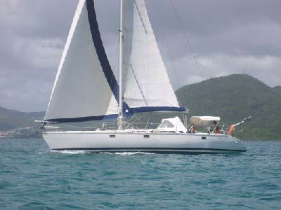 location bateau Sun Kiss 47