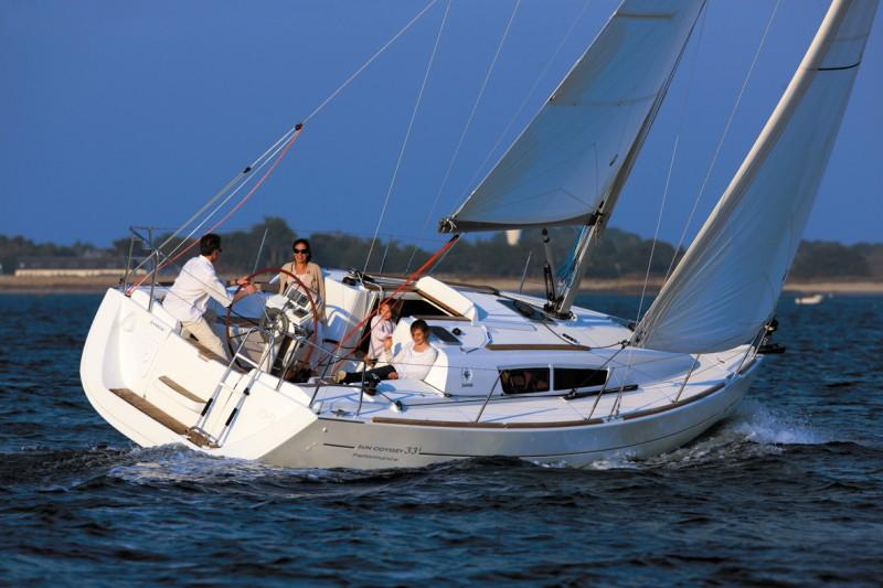 location bateau Sun Odyssey 33i