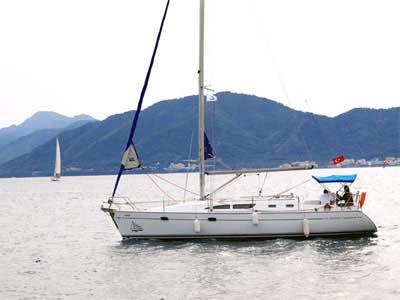location bateau Sun Odyssey 37