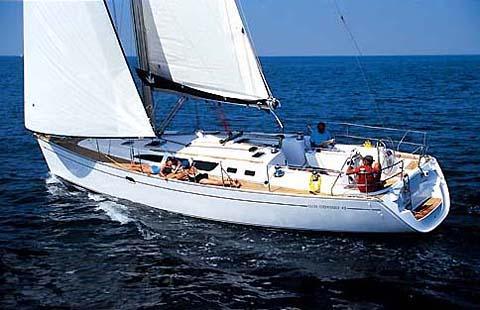 location bateau Sun Odyssey 43