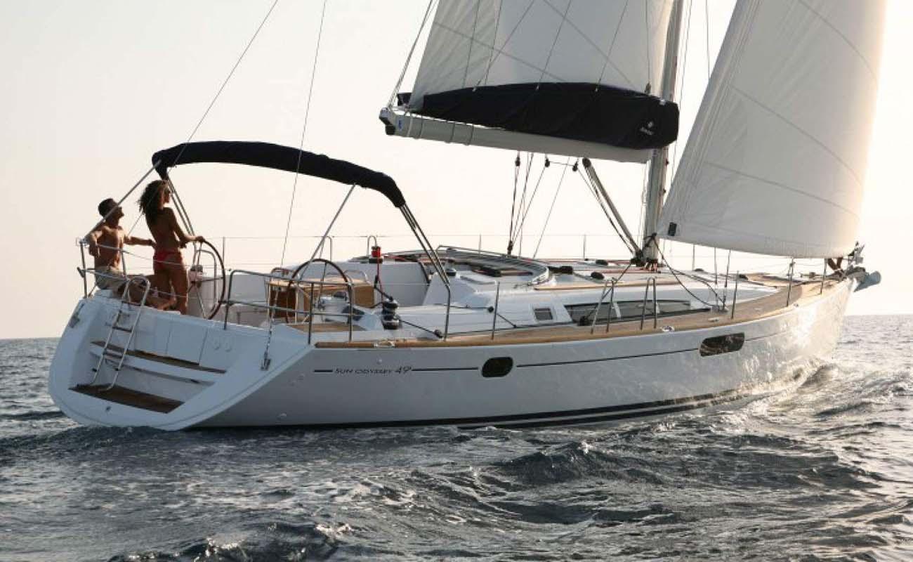location bateau Sun Odyssey 49i