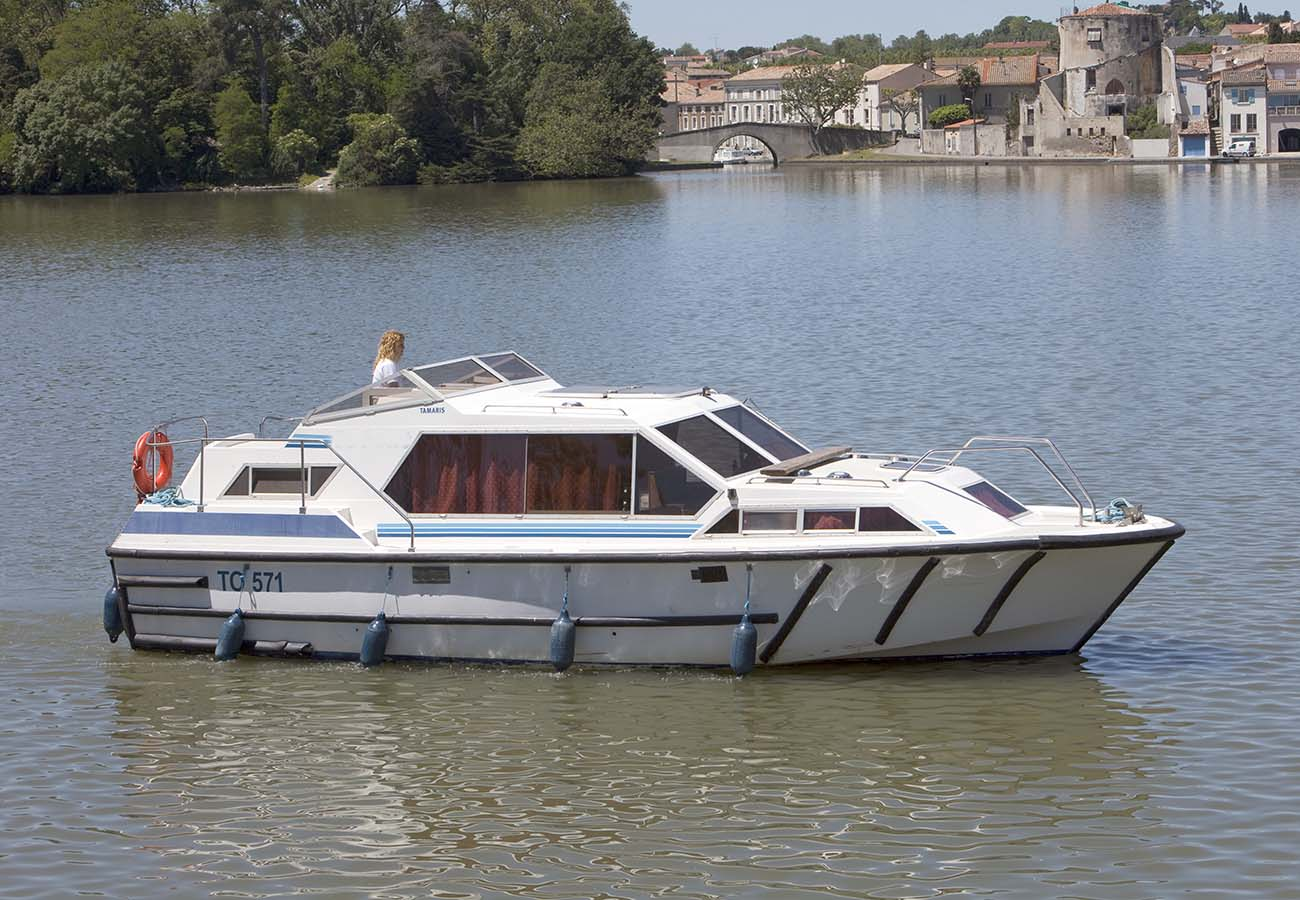 location bateau Tamaris