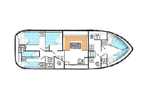 intérieur Tarpon 42 A