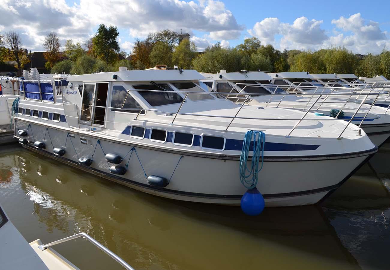 location bateau Tarpon 42 N