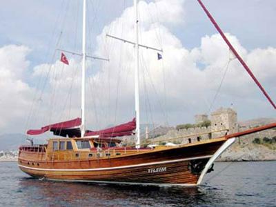 location bateau Tilsim