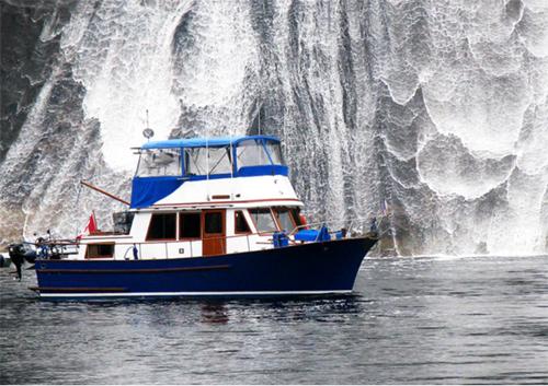 Location bateau  CHB 35 Trawler