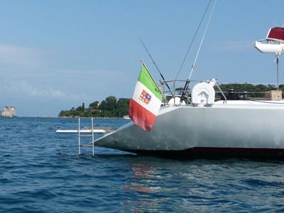 Location bateau  Vismara 68
