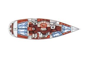 innen X-Yacht 442
