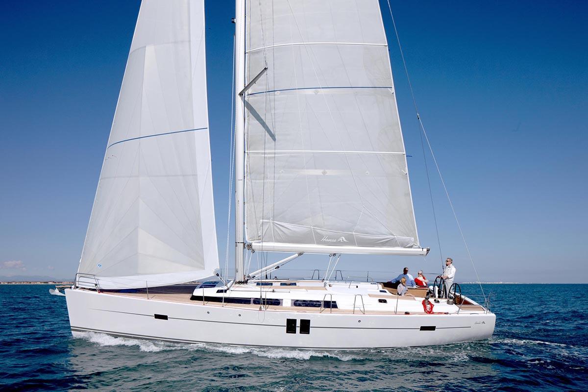 location bateau Hanse 495