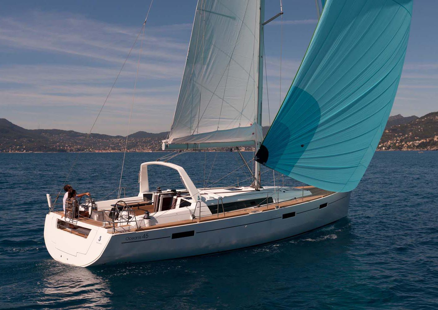 location bateau Oceanis 45