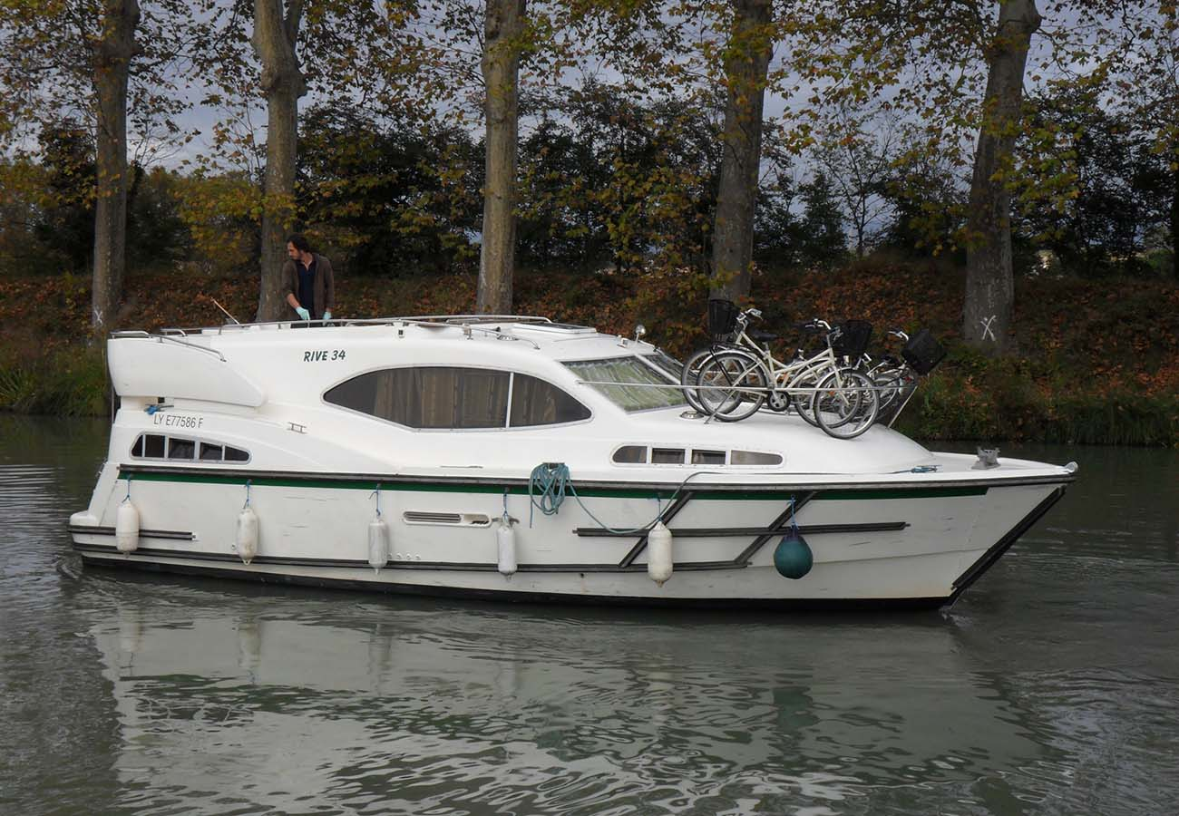 location bateau Haines Rive 34