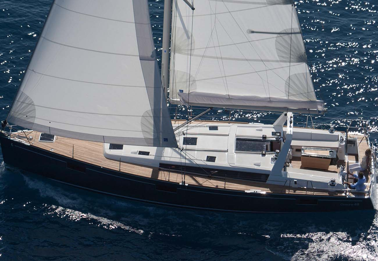 location bateau Oceanis 48