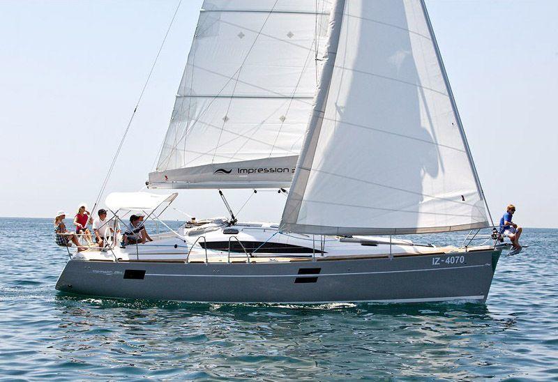 location bateau Elan 394 Impr