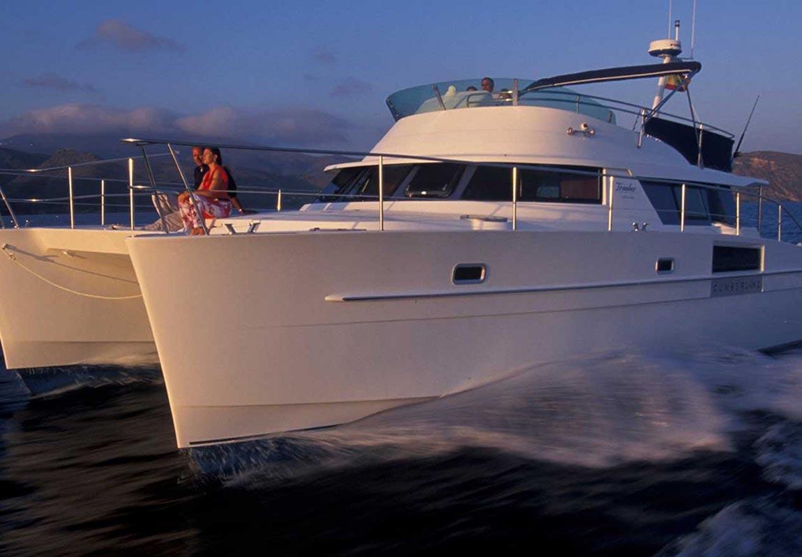 location bateau Cumberland 44
