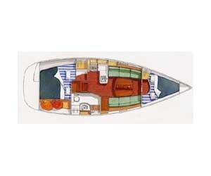 interno Oceanis Clipper 323