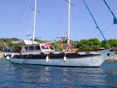 location bateau Hera