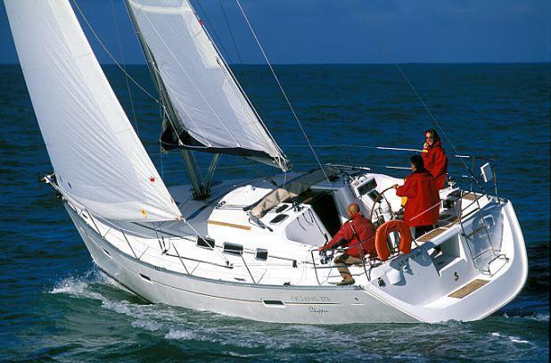 äußere Oceanis Clipper 373