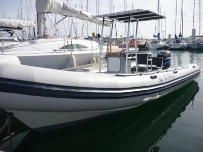 location bateau Valiant 750