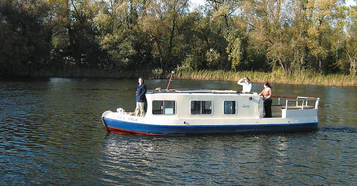 location bateau Welle