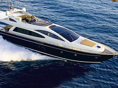 location bateau Riva 75