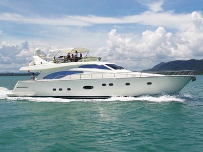 location bateau Ferretti 680