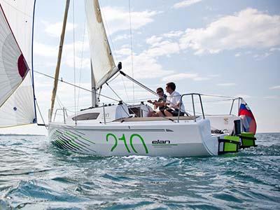 location bateau Elan 210