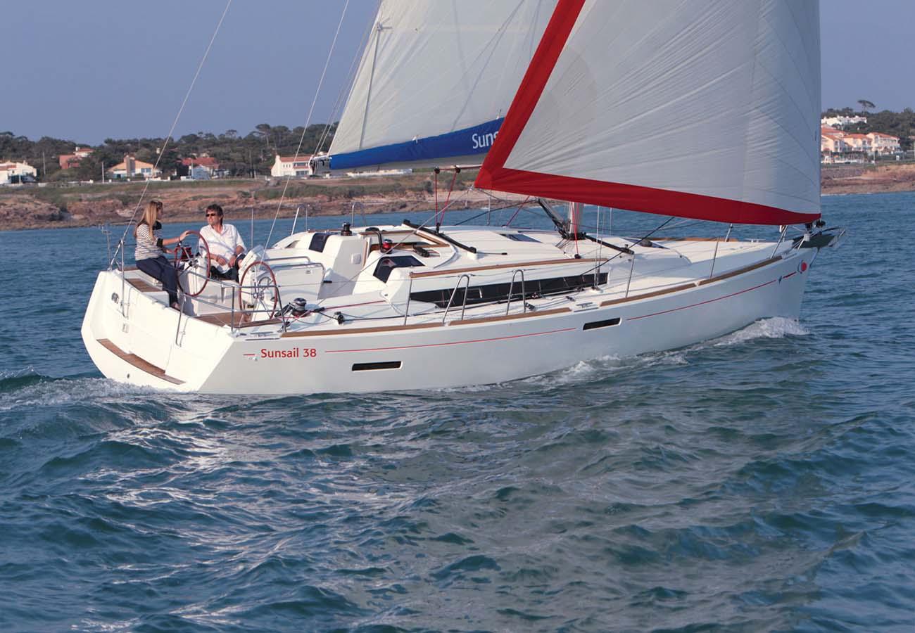 location bateau Sunsail Sun Odyssey 389
