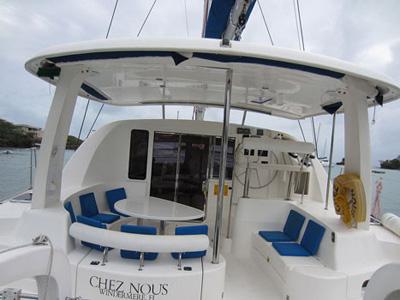 location bateau Leopard 4000
